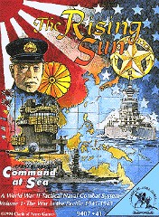 Command at Sea game box